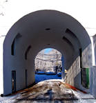 Winter Archway Stock