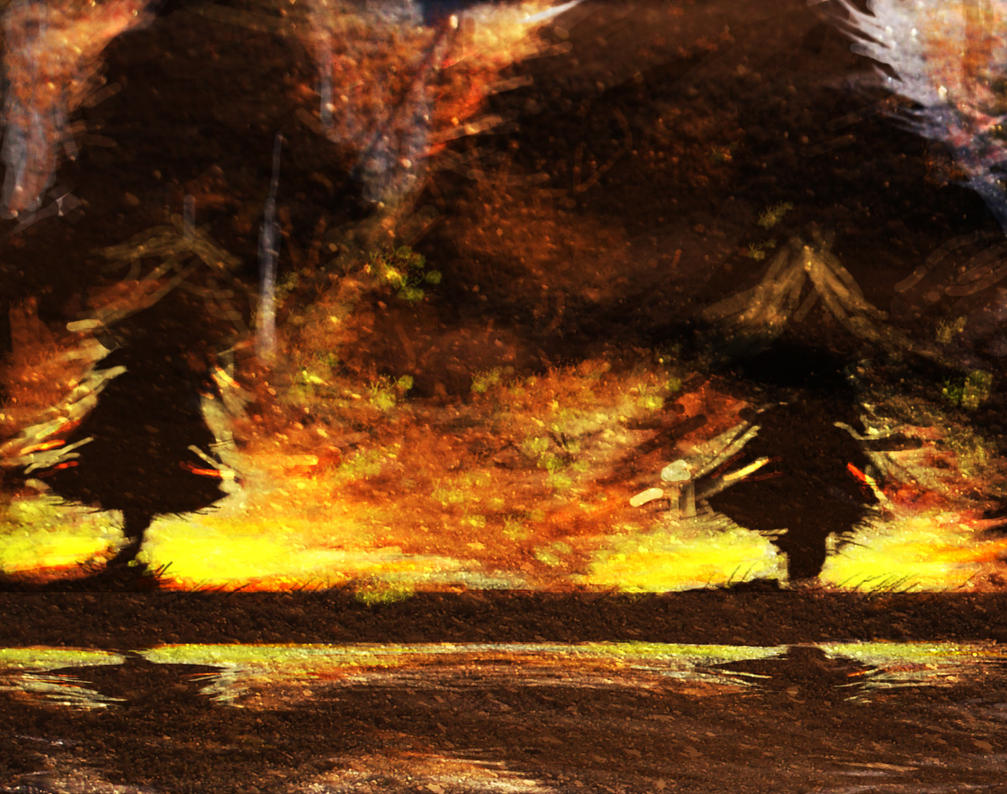 Forest Fire by philippeL on DeviantArt