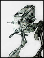 Star Wars: Scout Walker by philippeL