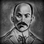 Vintage Gentleman Portrait by philippeL