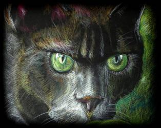 Big Green Eyes by philippeL