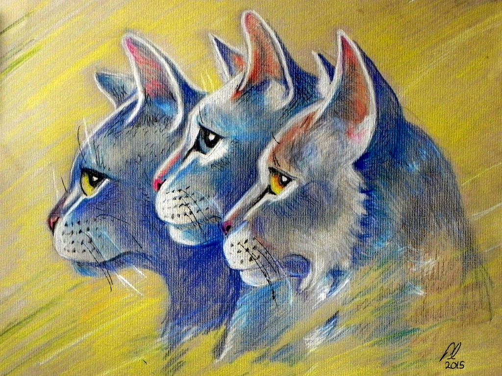 Cat Warriors by philippeL