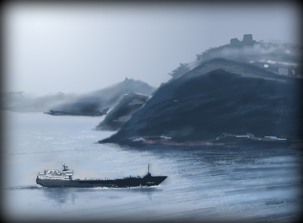 Mist over Bosphorus by Canan by philippeL