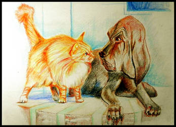 Odd Friends by philippeL