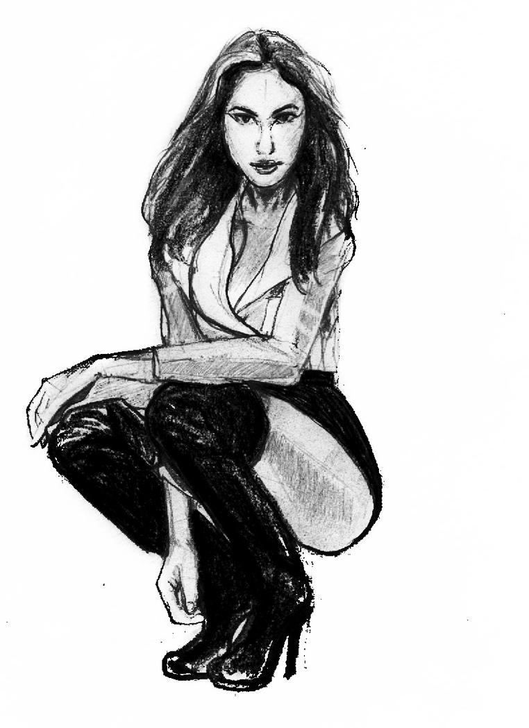 Gal Gadot Sketch by philippeL