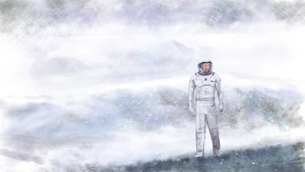 Interstellar - Mann's Planet by philippeL