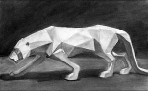 Puma - Plaster Model