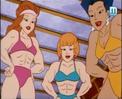 The Bodybuildettes
