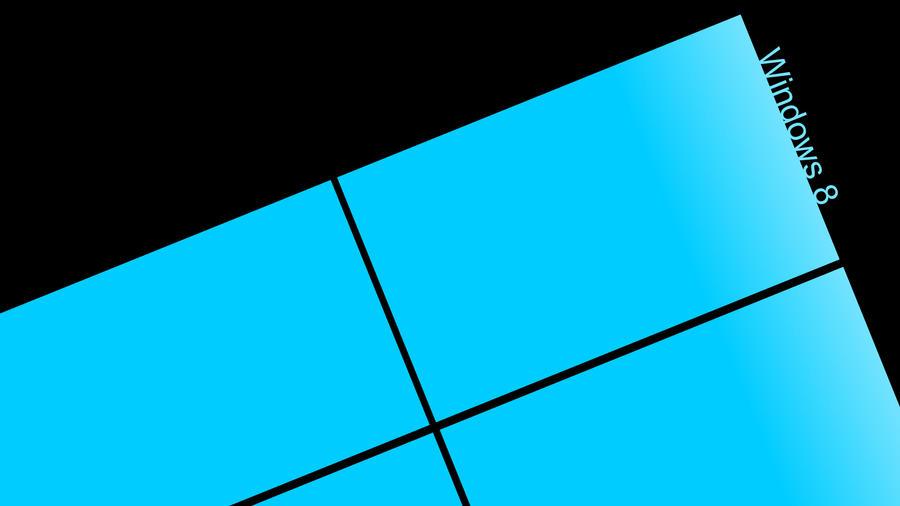 Simple Windows 8 HD Wallpaper By Gigacore
