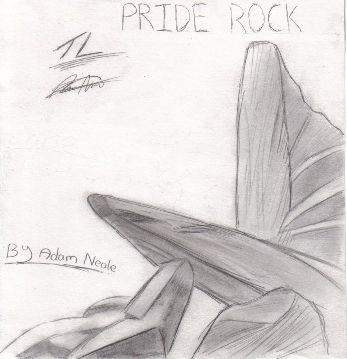 Pride Rock By This Land On Deviantart