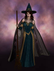 Witch by solitarysmagick
