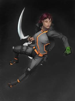 Blade girl