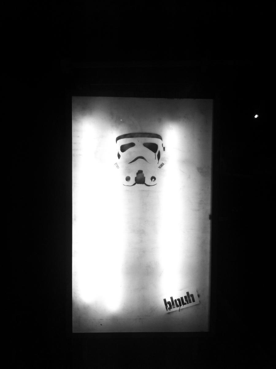 Clone trooper stencil by TheArtofBlouh