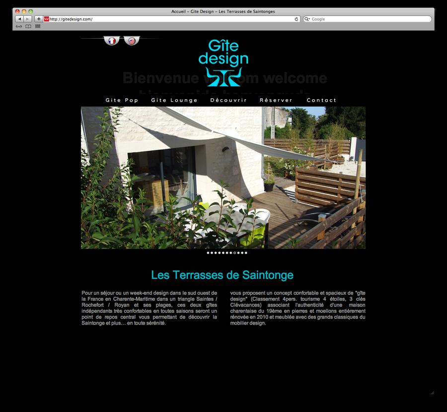 Gite Design.com by TheArtofBlouh