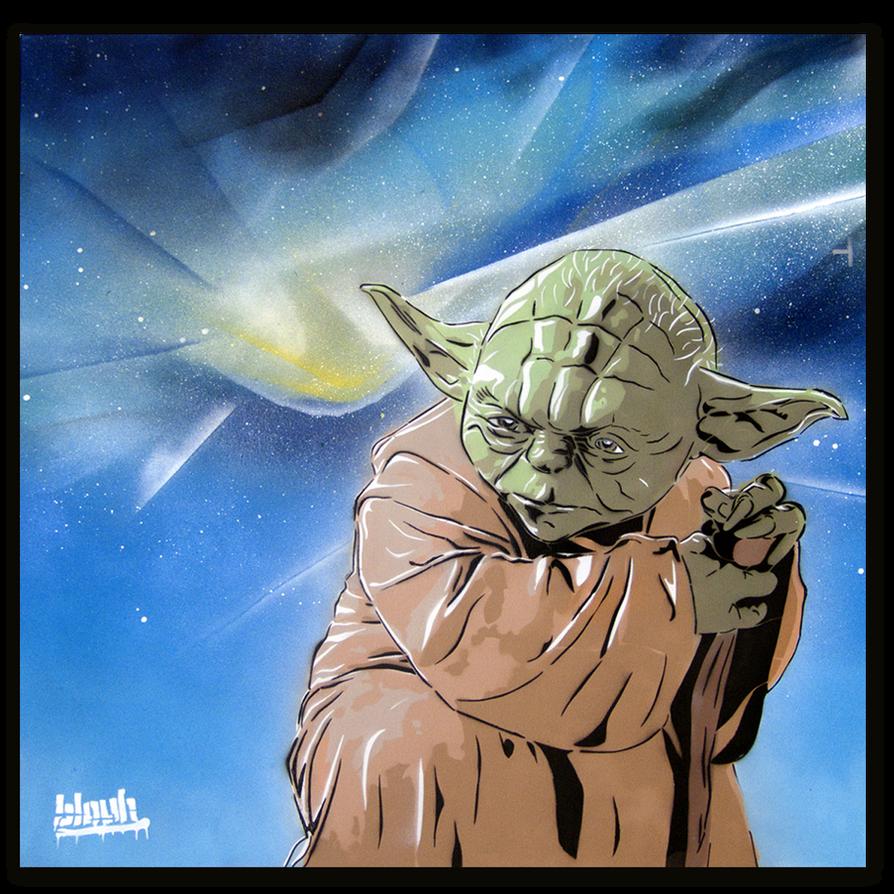 Master Yoda by TheArtofBlouh