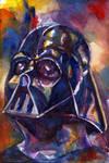 Darth Vader - Watercolor
