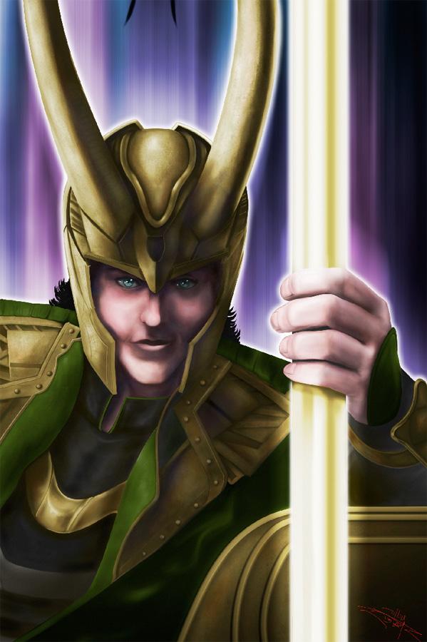 Loki by psdguy