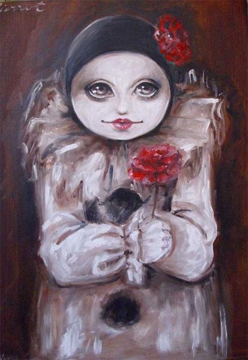 Pierrot II by paulee1
