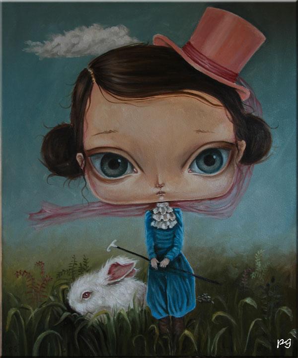 pink hat by paulee1