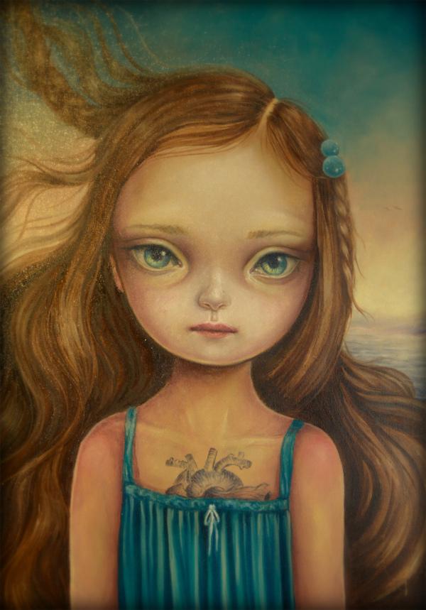 Sky blue dress by paulee1