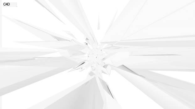 White Crisp Wallpaper