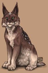 CM: Hannah the Lynx by Deertush