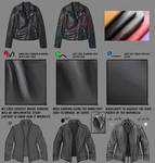 Process: How I Paint Leather Clothing