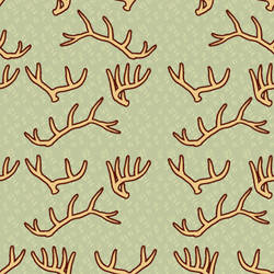 Antler tile background