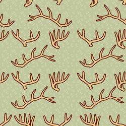 Antler tile background by Deertush