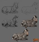 Lioden: Zebra Process