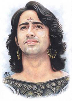 Shaheer Sheikh as ARJUN in Mahabharat