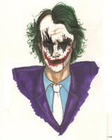The Joker by diabloqueen