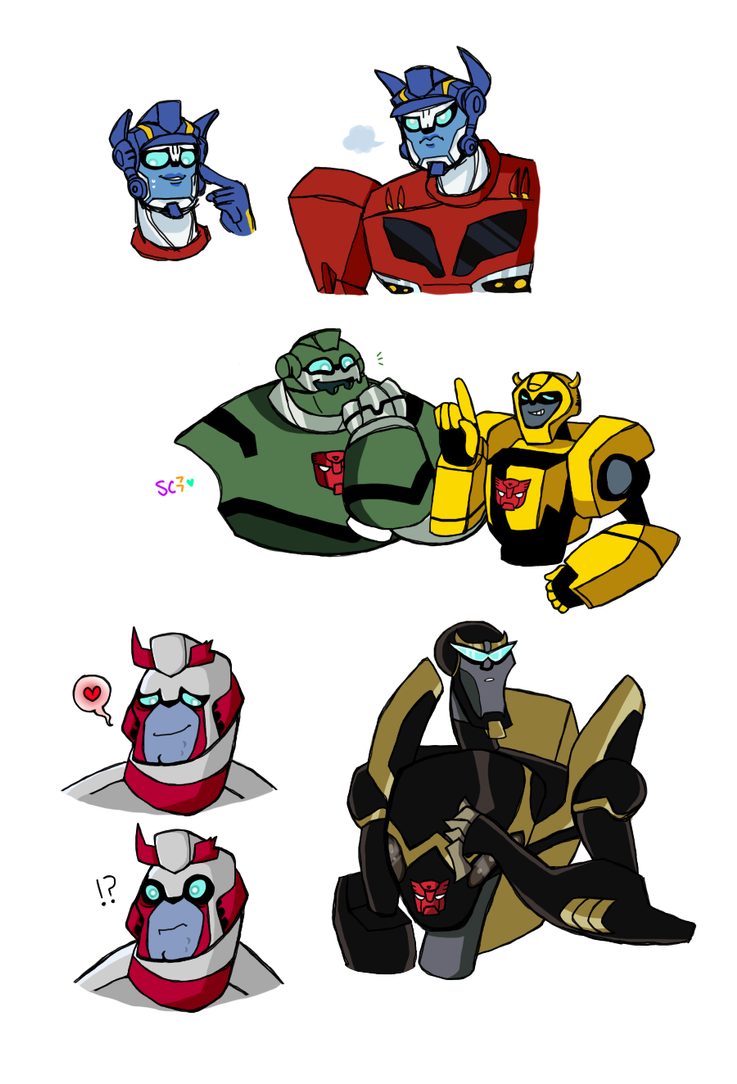 TFA doodles by Sophy-Chan77