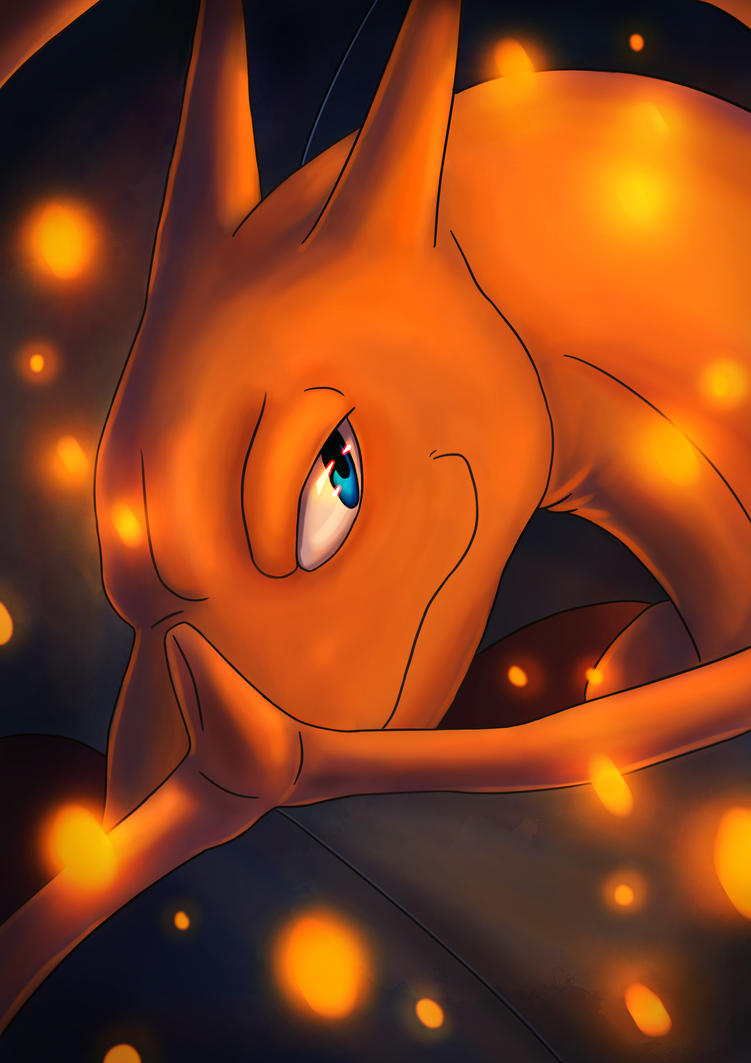 Charizard by LauraRobjohns