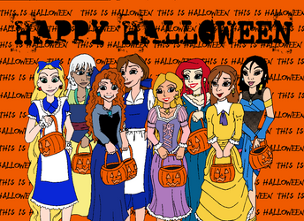 A Very Disney Halloween - Trick or Treat! by circusdreamsandmagic
