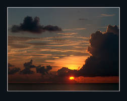 Jamaican Sunset by f0rTyLeGz