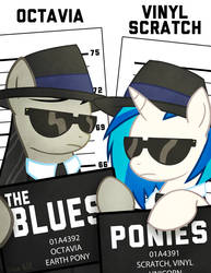 The Blues Ponies by SteveHoltisCool