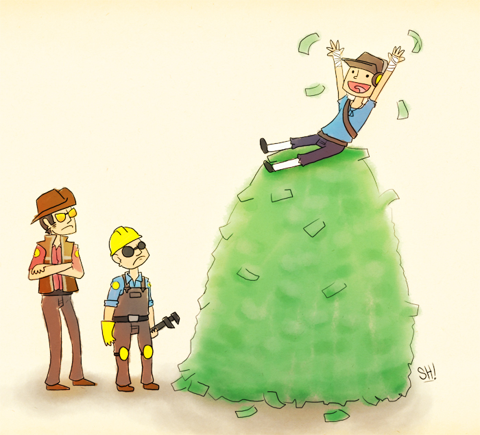 LOADS A MONEY by SteveHoltisCool