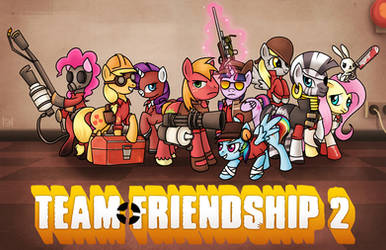 Team Friendship 2 by SteveHoltisCool