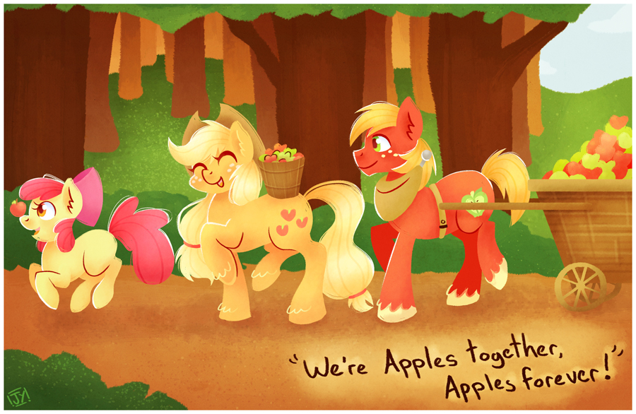 Apples Together by SteveHoltisCool