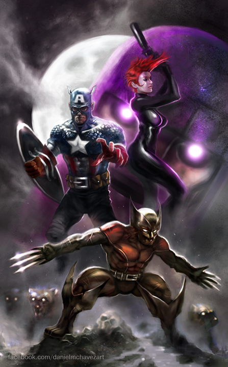 Avengers by danielmchavez