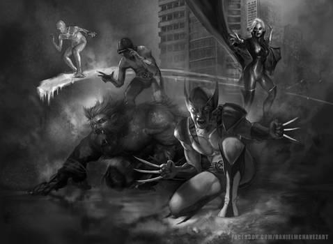 X-Men Work in Progress