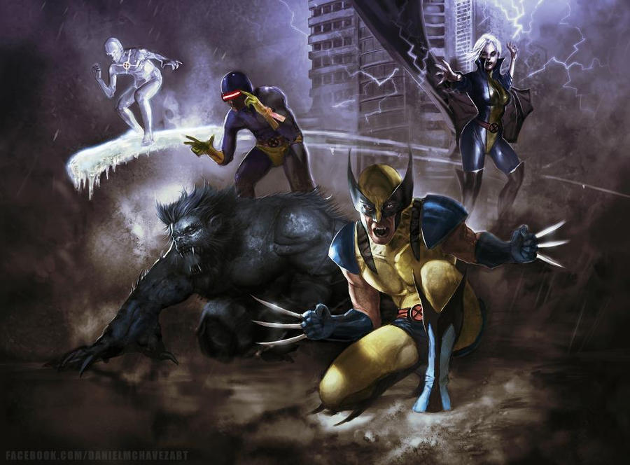 X-Men by danielmchavez