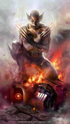 Wolverine by danielmchavez