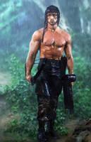 Rambo First Blood Part II by danielmchavez