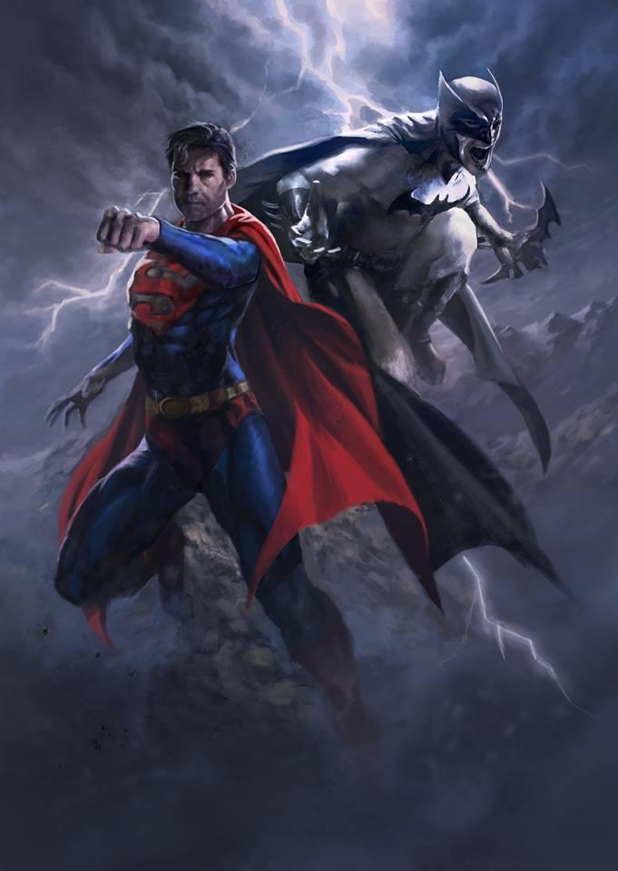 Superman Batman by danielmchavez