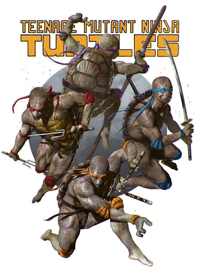 Teenage Mutant Ninja Turtles by danielmchavez