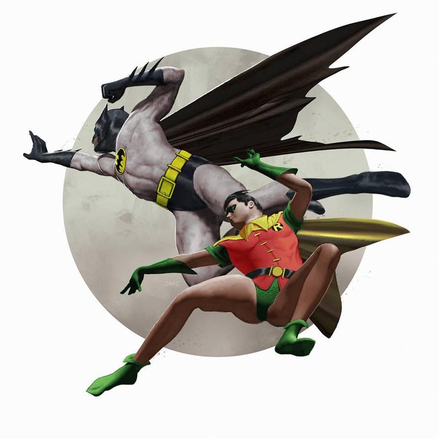 Batman and Robin by danielmchavez