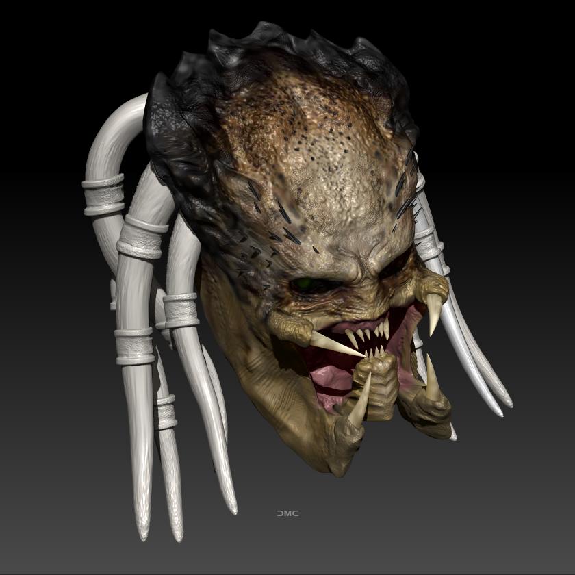 Predator WIP 2 by danielmchavez