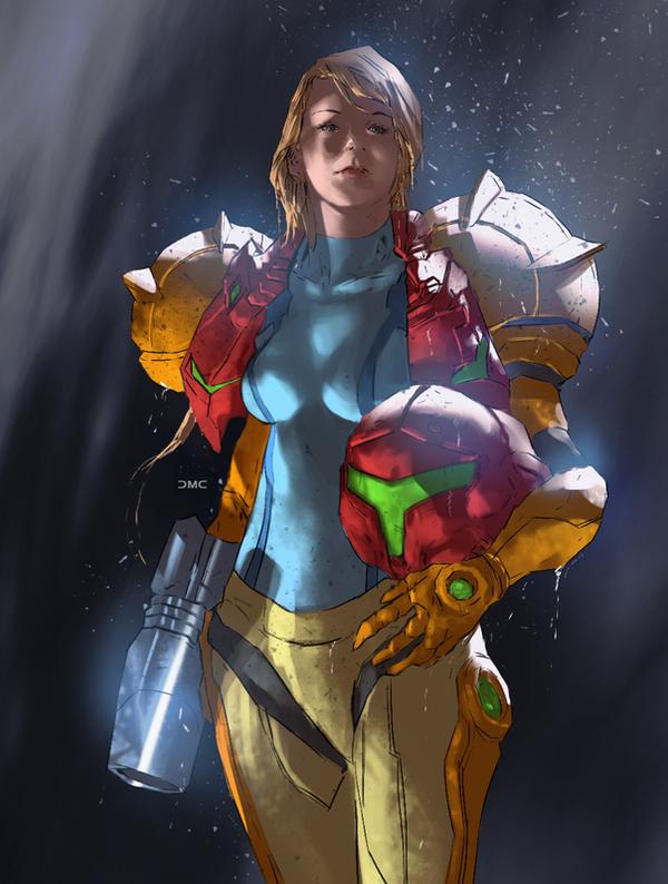 Samus Aran - Metroid by danielmchavez